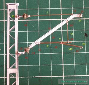 Słup trakcyjny 1:45 , zdjęcie, instrukcja