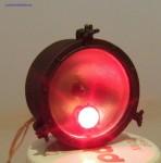 Reflektor parowozu (wiadro), skala 1:25