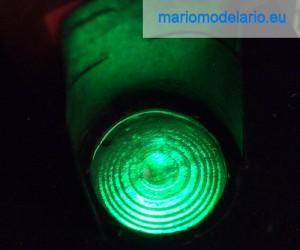 Soczewka semafora świetlnego (soczewka Fresnela) 1:25
