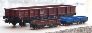 Wagon 401 skala Z (1:220), wydruk 3d